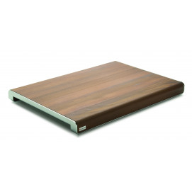 Planche à découper bois/inox 50 x 35 cm